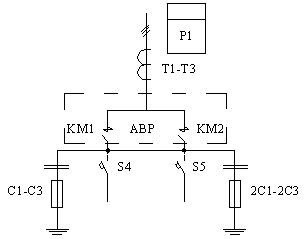 Припципиальная схема ВРУ, панели 3BР-8-25-0-31, 3BР-8-40-0-31, 3BР-8-63-0-31
